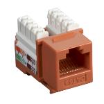 Black Box Value Line Cat5e wire connector RJ-45 Orange