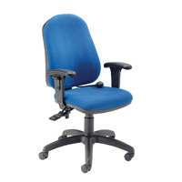 CAPPELA FF INTRO POSTURE CHAIR WITH ARMS BLUE