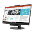 "Lenovo 10QXPAT1UK 23.8"" 1920 x 1080pixels Multi-touch Tabletop Black touch screen monitor"