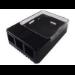 Raspberry Pi Case f. Pi Type B+/B2/B3 Black