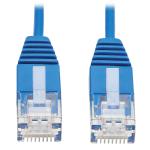"Tripp Lite N200-UR01-BL networking cable 11.8"" (0.3 m) Cat6 U/UTP (UTP) Blue"