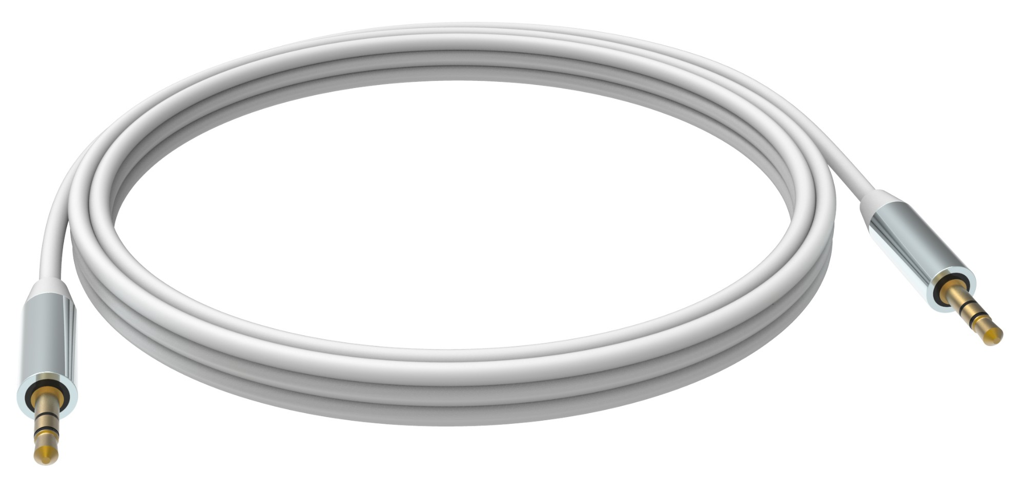 Vision TC 1M3.5MMP cable de audio 1 m 3,5mm Blanco