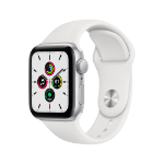 Apple Watch SE OLED Silver GPS (satellite)