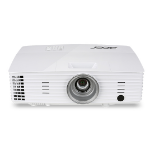Acer Essential X135WH Desktop projector 3400ANSI lumens LCD WXGA (1280x800) White data projector