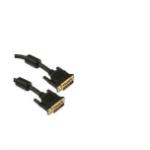 Unirise DVI-D 7.6m 7.6m DVI-D DVI-D Black DVI cable
