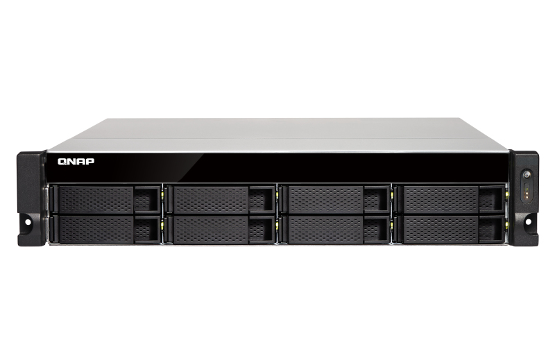 QNAP TS-832XU Ethernet LAN Rack (2U) Black NAS