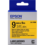 Epson C53S653005 (LK-3YBW) Ribbon, 9mm x 9m