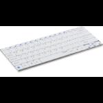 Rapoo E6100 Bluetooth QWERTZ German White mobile device keyboard