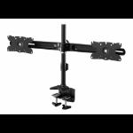 "Amer AMR2C32 flat panel desk mount 81.3 cm (32"") Clamp Black"
