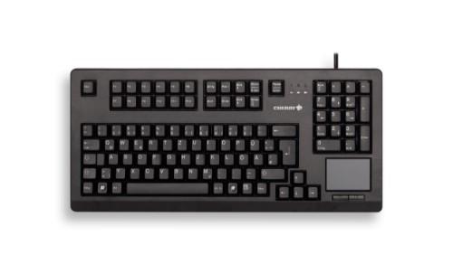 CHERRY TouchBoard G80-11900 keyboard USB AZERTY French Black