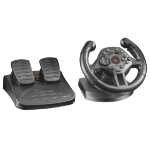 Trust GXT 570 Steering wheel + Pedals PC,Playstation 3 Analogue USB Black