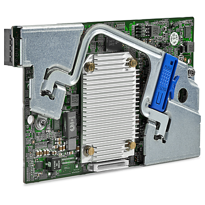 Hewlett Packard Enterprise Smart Array P244br/1GB FBWC 12Gb 2-ports Int SAS PCI Express x8 3.0 12Gbit/s RAID controller