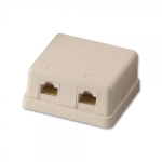 Lindy 60576 socket-outlet RJ-45 Grey