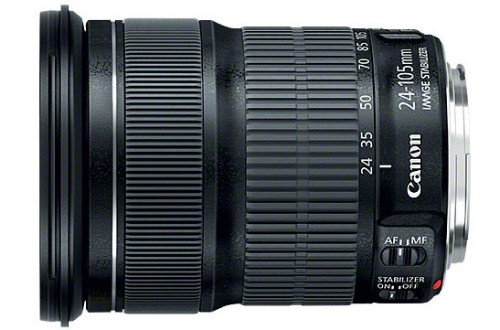 Canon EF 24-105mm f/3.5-5.6 IS STM SLR Standard zoom lens Black