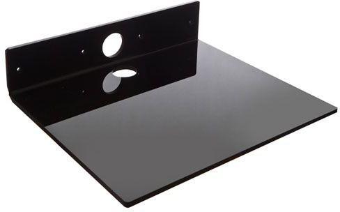 VivoLink Codec shelf, Black 8 mm acryl