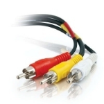 C2G 3ft Value Series RCA Type Audio Video Cable