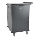 Tripp Lite CSC48AC portable device management cart/cabinet Black