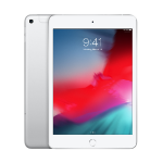 "Apple iPad mini 20.1 cm (7.9"") 64 GB Wi-Fi 5 (802.11ac) 4G LTE Silver iOS 12"