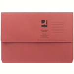 Q-CONNECT Q CONNECT DOCUMENT WALLET FC RED