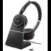 Jabra Evolve 75 UC Stereo Auriculares Diadema Negro