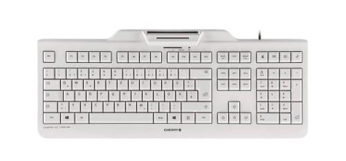 CHERRY KC 1000 SC-Z keyboard USB QWERTZ German White