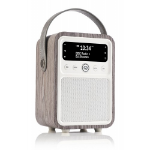 ViewQwest Monty radio Portable Digital Gray, White