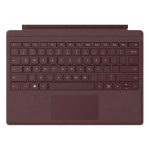 Microsoft Surface Go Signature Type Cover Bordeaux rood QWERTY US International