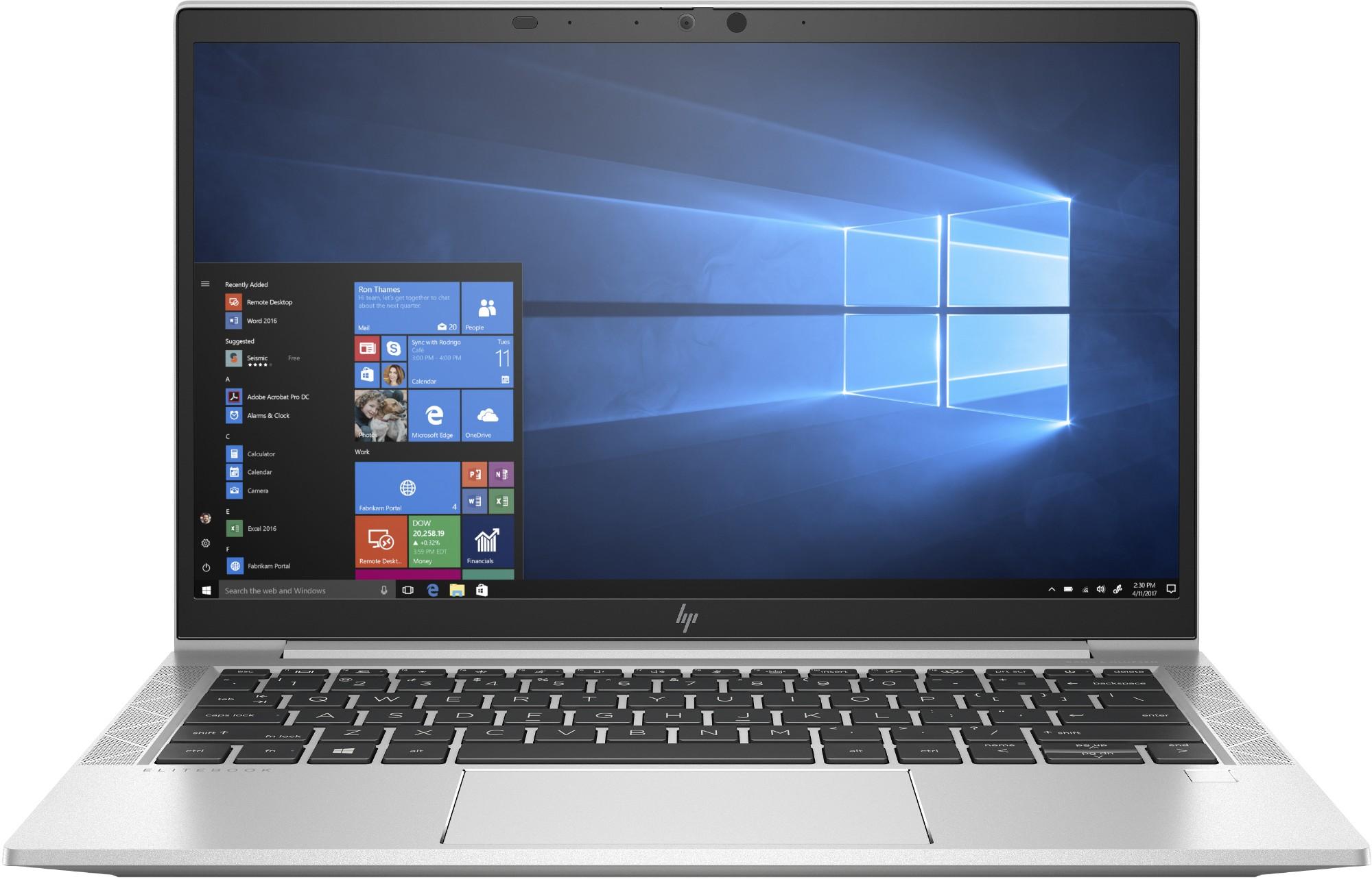 "HP EliteBook 830 G7 + Thunderbolt Dock 120W G2 Notebook Zilver 33,8 cm (13.3"") 1920 x 1080 Pixels Intel® 10de generatie Core™ i5 8 GB DDR4-SDRAM 256 GB SSD Wi-Fi 6 (802.11ax) Windows 10 Pro"