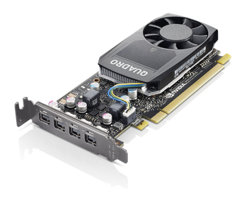 Graphic Card NVIDIA Quadro P620 2GB GDDR5 Mini DPx4 Graphics Card with Low Profile Bracket