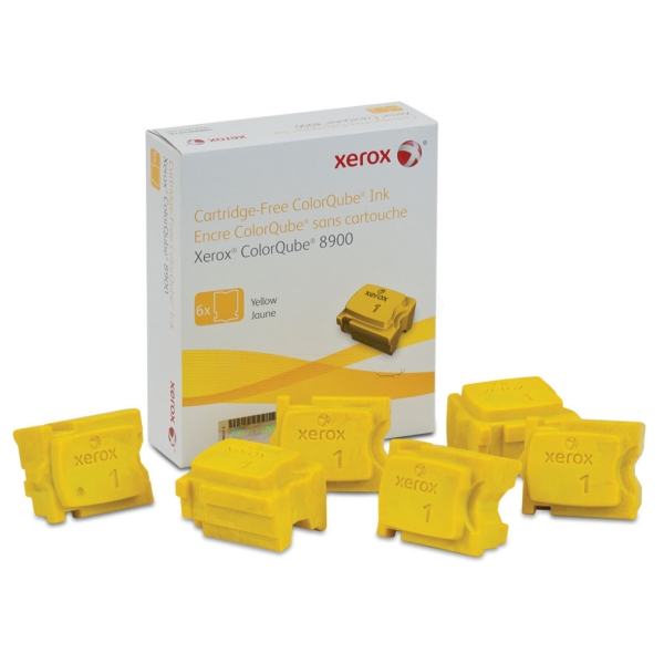 Xerox 108R01028 Dry ink in color-stix, 2.8K pages, Pack qty 6ZZZZZ], 108R01028