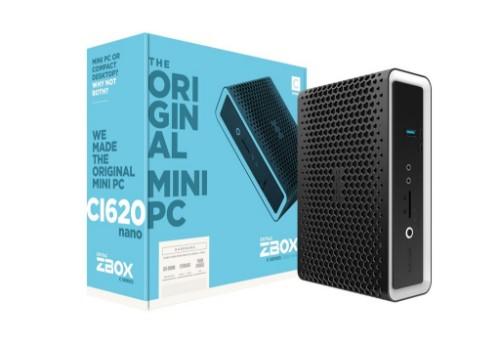 Zotac ZBOX CI620 nano SFF Black i3-8130U 2.2 GHz