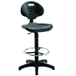 Jemini Draughtsman Chair Black