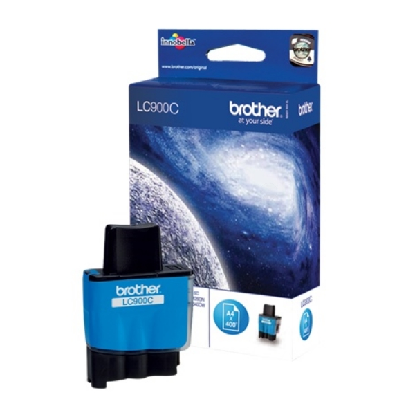 Brother LC-900C Ink cartridge cyan, 400 pages @ 5% coverage, 8ml