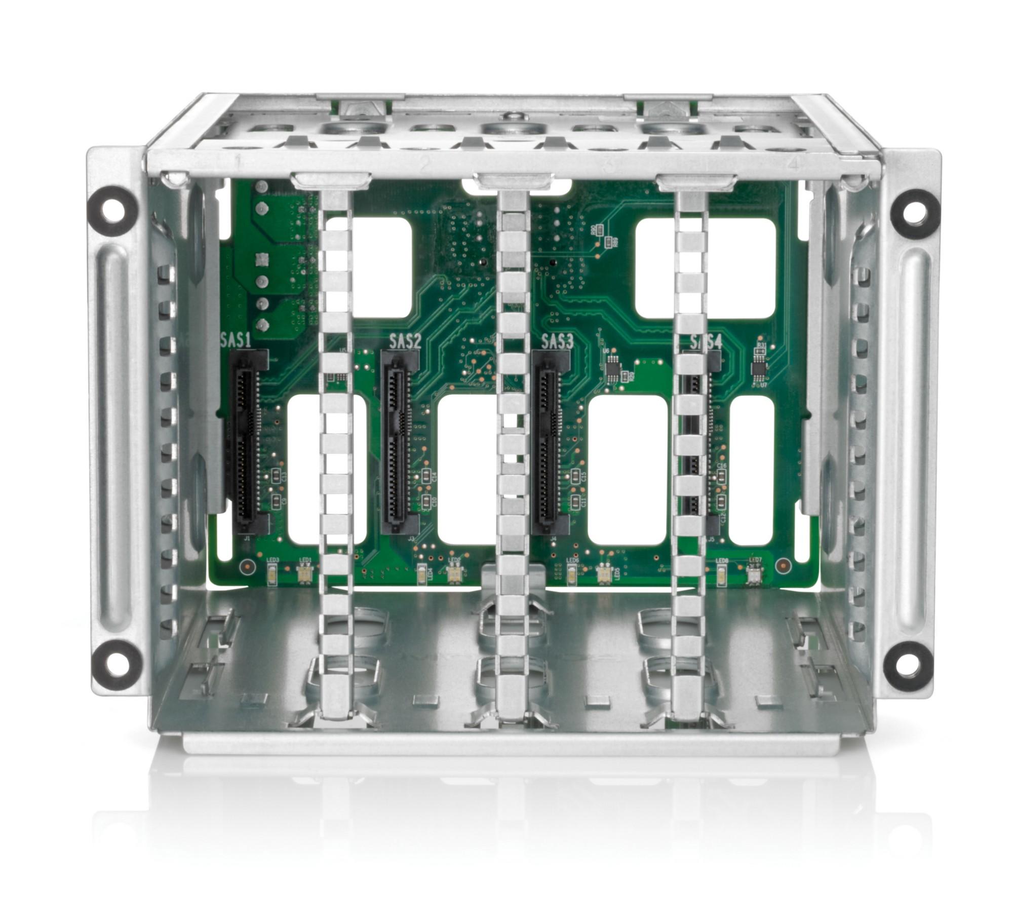 Hewlett Packard Enterprise ML350 Gen9 8 Small Form Factor (SFF) Hard Drive Cage Kit Carrier panel