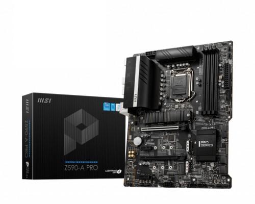 MSI Z590-A PRO motherboard Intel Z590 LGA 1200 (Socket H5) ATX