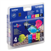 Brother LC-1000VAL Ink cartridge multi pack, 500pg + 3x400pg, Pack qty 4