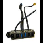 HP 732755-001 Cable management kit computer case part