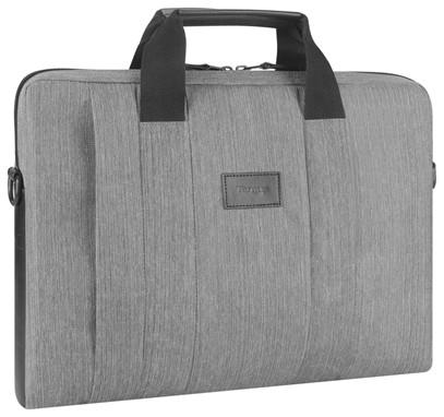 Targus Elegante maletín para portátil gris - Estuche para ordenador Smart City