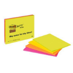 Post-It 7100043258 self-adhesive note paper Rectangle Green, Orange, Pink 45 sheets