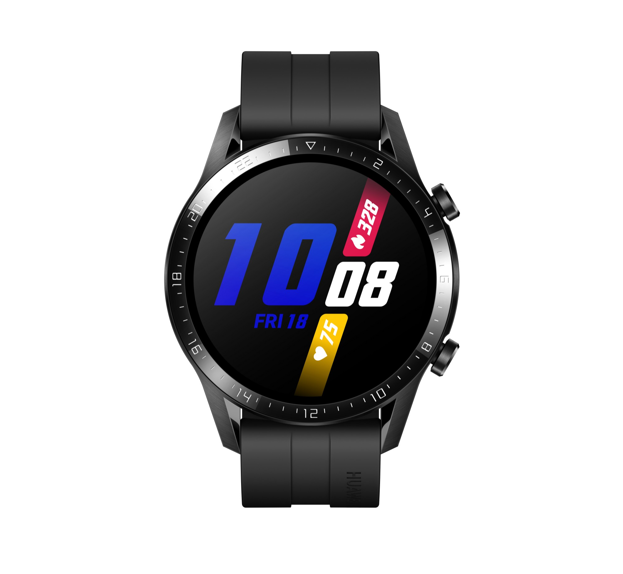 Huawei WATCH GT 2 smartwatch Black AMOLED 3.53 cm 1.39