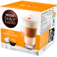 Nescafe Latte for Nescafe Dolce Gusto Machine 24 Drinks Ref 12019858 [Packed 48]