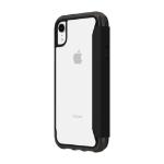"Incipio Survivor Clear Wallet mobile phone case 15.5 cm (6.1"") Folio Black,Transparent"