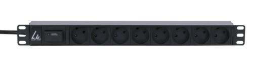 Lanview LVR261880D power distribution unit (PDU) 8 AC outlet(s) 1U Black