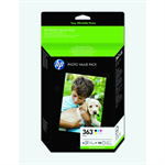HP Q7966EE (363) Ink cartridge multi pack, Pack qty 6