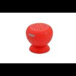 Ednet Sticky Speaker 2 W Mono portable speaker Red