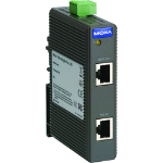 Moxa SPL-24 PoE Splitter network splitter Black Power over Ethernet (PoE)