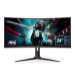 "AOC Gaming CU34G2/BK LED display 86,4 cm (34"") 3440 x 1440 Pixeles WQHD Negro, Rojo"