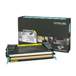 Lexmark C734A1YG Toner yellow, 6K pages