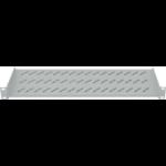 "Intellinet 19"" Cantilever Shelf, 1U, 2-Point Front Mount, 150mm Depth, Grey"