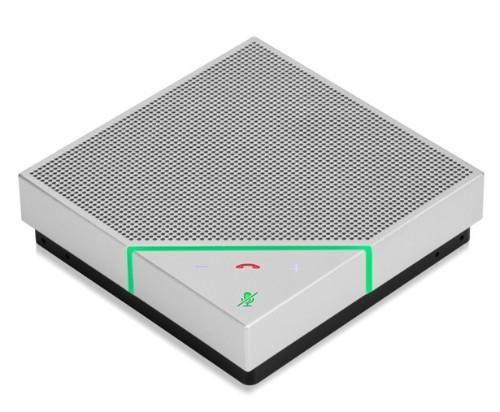 Polycom VoxBox speakerphone Universal Black,White USB/Bluetooth